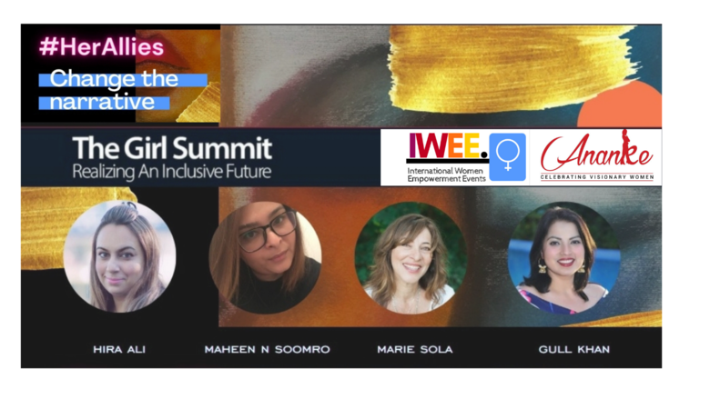 Hira Ali, Managing Director of International Women Empowerment Events Partners with Ananke to Host First Ever Digital Girl Summit in the Middle East & Subcontinent