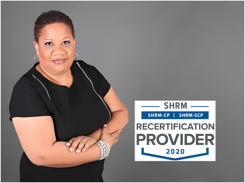 Sonya Smith-Valentine/Financially Fierce is recognized by SHRM as a Recertification Provider