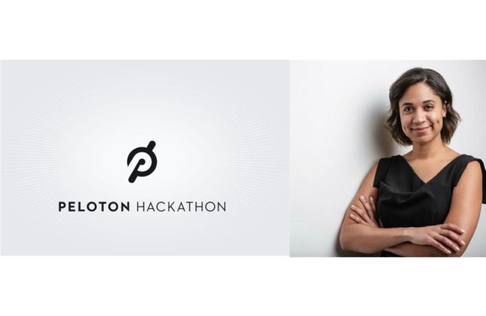 Portia Pascal Manages Peloton's Hackathon Project