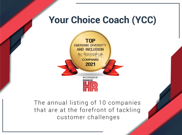 Simone Sloan's Company Your Choice Coach Recognized as a Top Emerging Diversity and Inclusion Company for 2021.