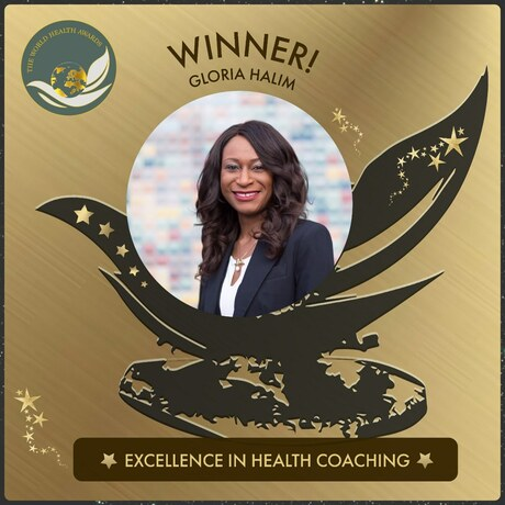 Gloria Halim Receives Excellence in Health Coaching Award
