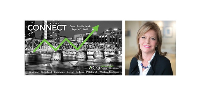 Kathleen Powers Dunlap Speaks at the Great Lakes ACG Capital Connection