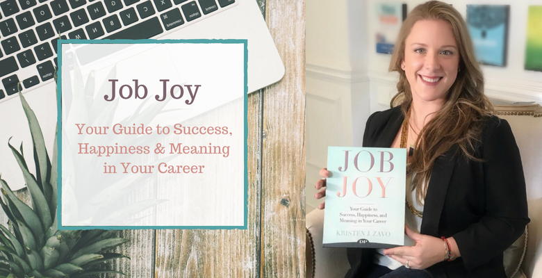 Kristen Zavo's New Book, Job Joy: Your Guide to Success, Happiness & Meaning in Your Career, Makes Amazon Best Seller List