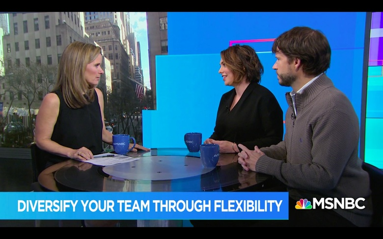 Manon DeFelice Interviews with MSNBC and The Times UK