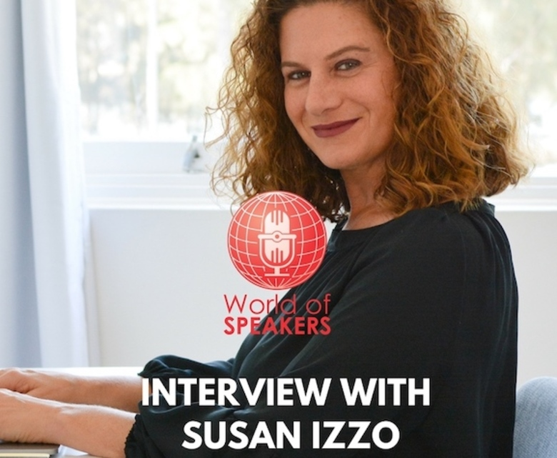 Susan Izzo Featured on World of Speakers podcast with Ryan Foland