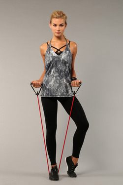 Zen City Singlet and Beyond Galaxy Legging