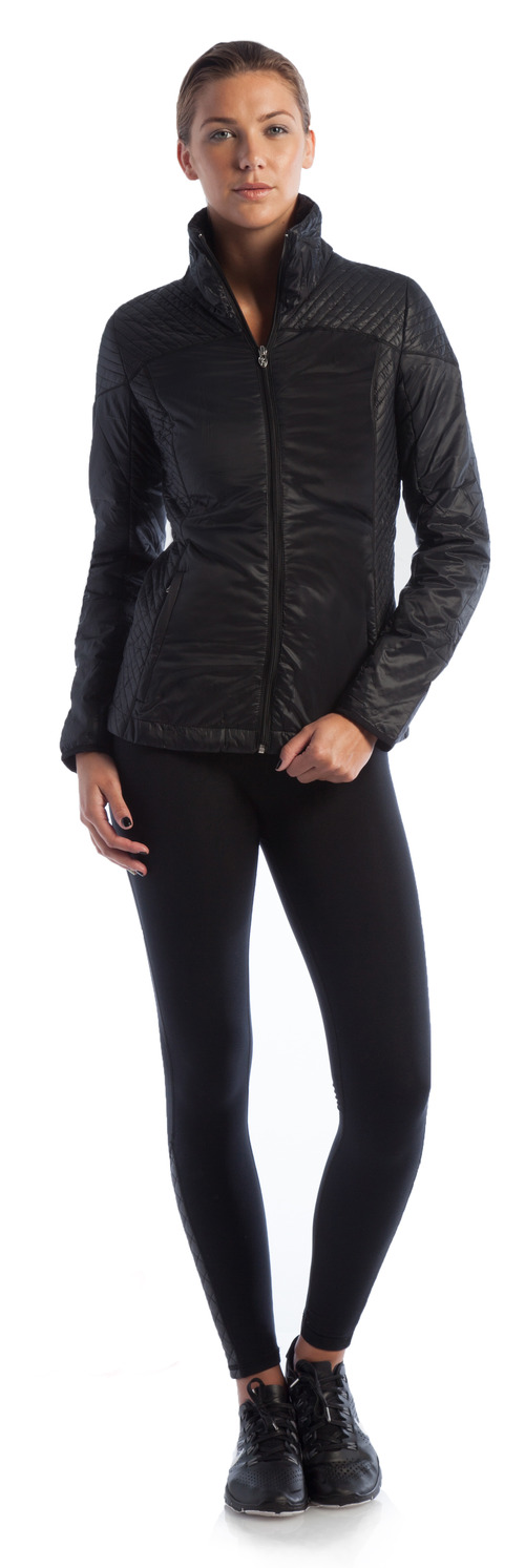 Rise and Shine Jacket Black and Go-To Legging