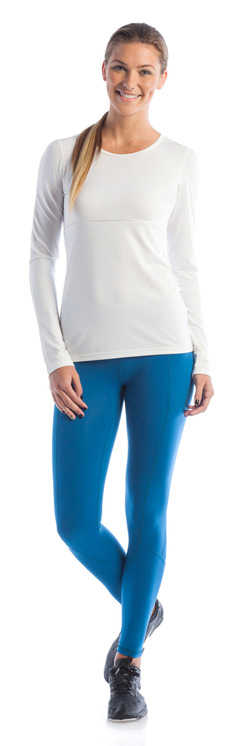 Never Give Up Long Sleeve and Body Map Legging