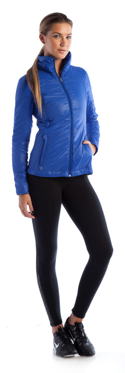 Rise and Shine Jacket Royal Blue and Go-To Legging
