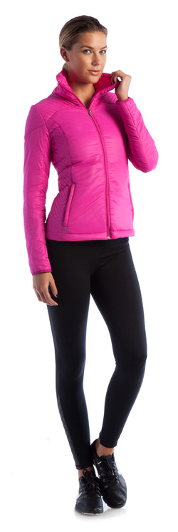 Rise and Shine Jacket Pink Glow and Go-To Legging