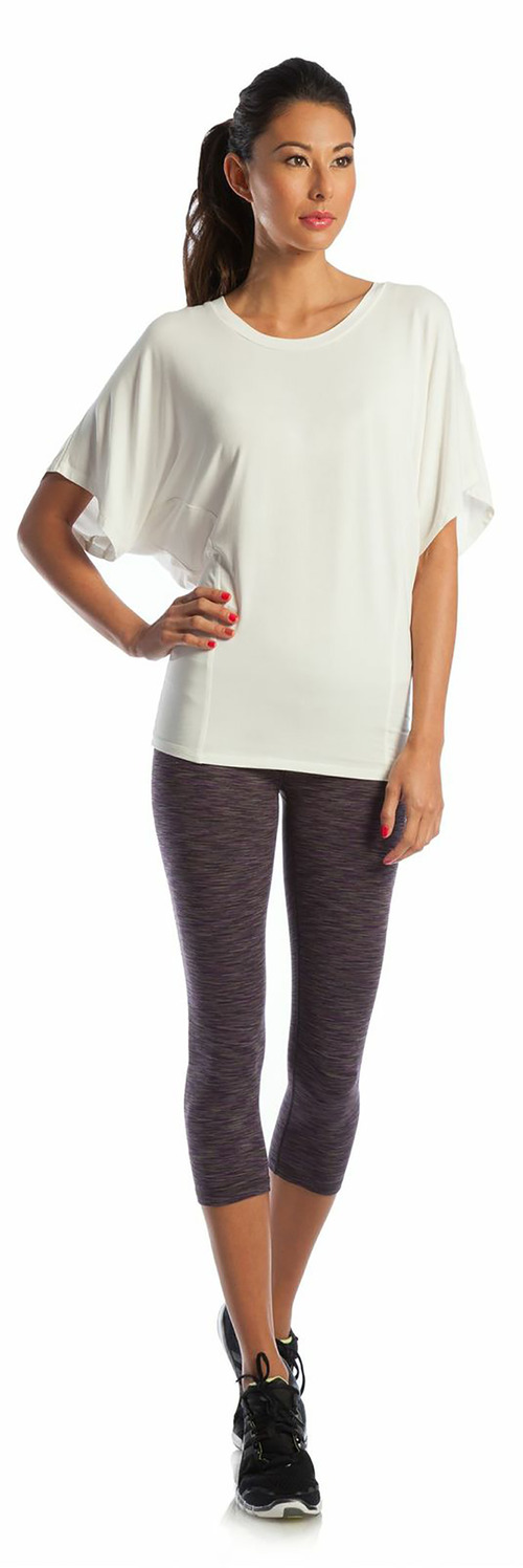 Core Power Tee and Balance Capri