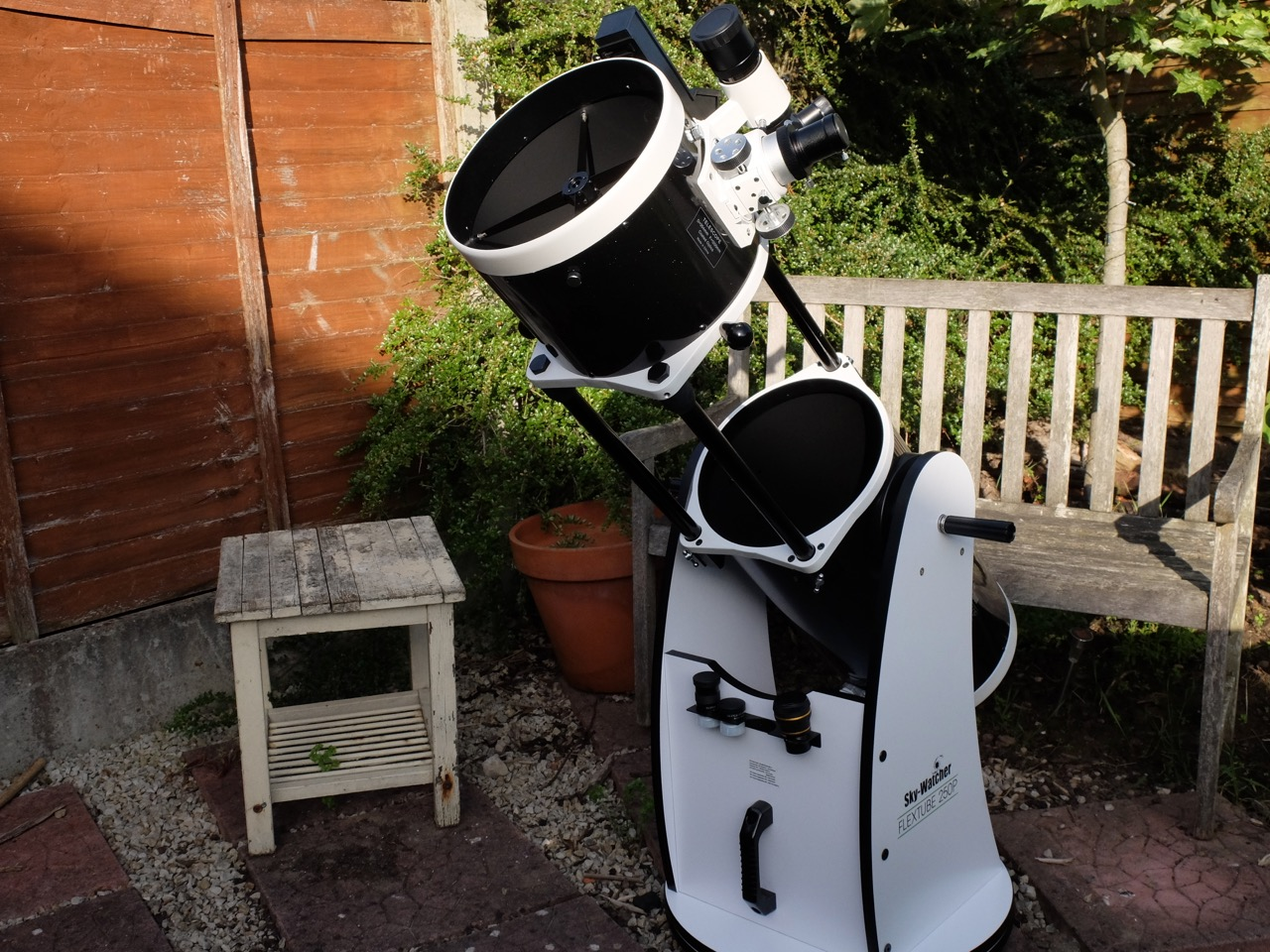 First Light with SkyWatcher FlexTube 250P Dobsonian
