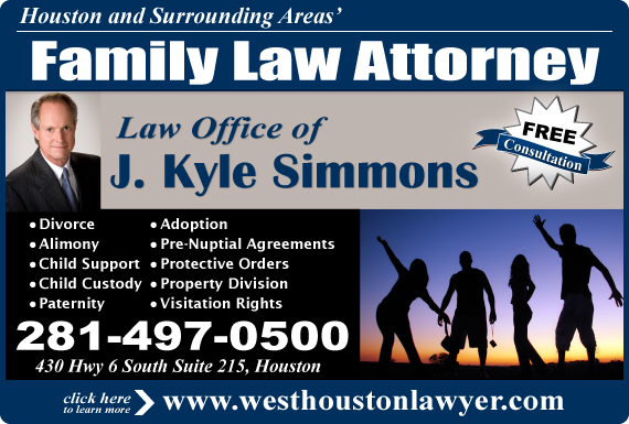 Exclusive Ad: Law Office of J. Kyle Simmons Houston 2814970500 Logo
