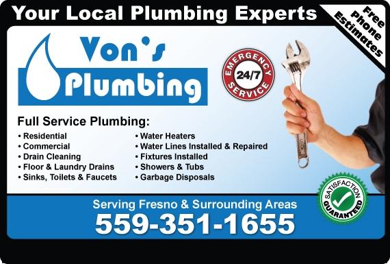 Find Fresno Plumbers Plumber Fresno Ca