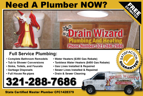Exclusive Ad: Drain Wizard  3212887686 Logo