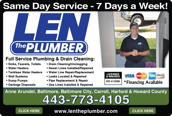 Exclusive Ad: Len The Plumber  4437734105 Logo