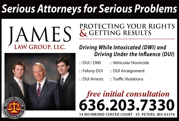 Exclusive Ad: James Law Group, LLC Saint Peters 6362037330 Logo