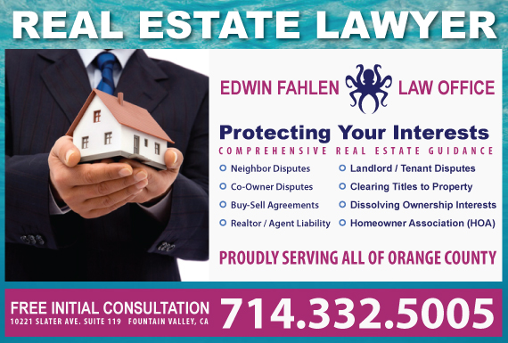 Find Fountain Valley Real Estate Lawyers Attorney Fountain Valley CA