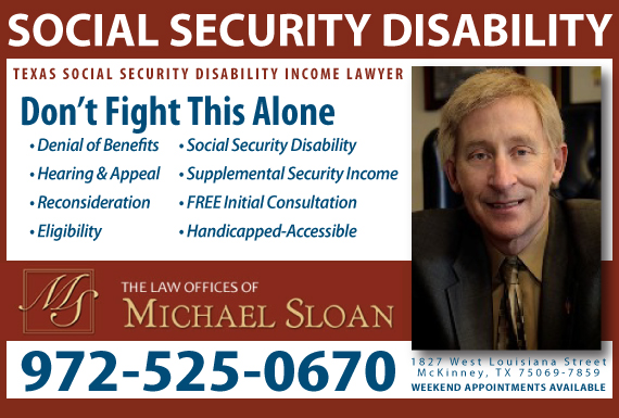 Exclusive Ad: The Law Offices Of Michael Sloan Mckinney 9725250670 Logo