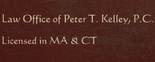 Law Office Of Peter T. Kelley Logo