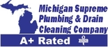 Michigan Supreme Plumbing and Drain Cleaning Logo