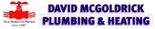 David McGoldrick Plumbing & Heating Logo
