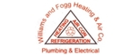 Williams and Fogg Heating, Air, Plumbing & Electrical Logo