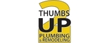 2 Thumbs Up Plumbing and Remodeling Logo