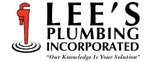 Lee's Plumbing Inc. Logo