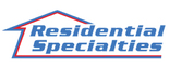 Residential Specialties Roofing and Renovation  Logo