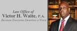 Law Office of Victor H. Waite, P.A. Logo