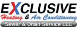 Exclusive Heating, Air Conditioning, Sewer & Drain Service LLC. Logo