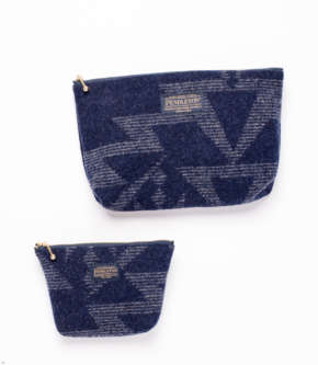 Pendleton Japan Zip Pouch - Blue