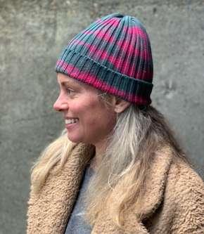 X Quality Mending Co. Knit hat