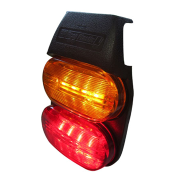 FAROS DELIMITADOR FLEXIBLE LED AMBAR/ROJO AP-402 LED