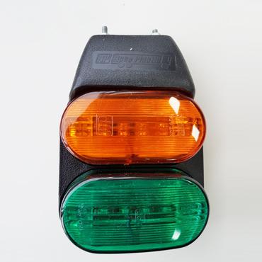 FAROS DELIMITADOR FLEXIBLE LED AMBAR/VERDE AP- 402 LED