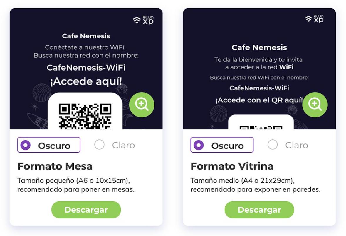 Catálogo QR web y PDF