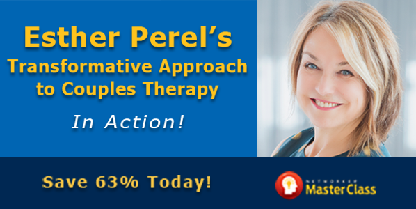 Register for Esther Perel's Master Class