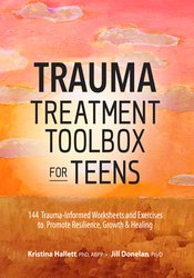 Trauma Treatment Toolbox for Teens Book Cover