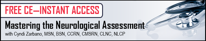 FREE CE: Mastering the Neurological assessment