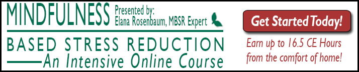 Online Course: Mindfulness Based Stress Reduction