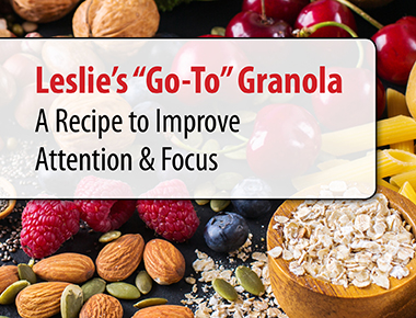 Leslie's Go To Granola Recipe