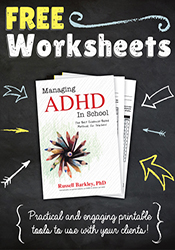 Managing ADHD Video and Worksheets Image