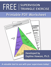 Supervision Triangle Exercise