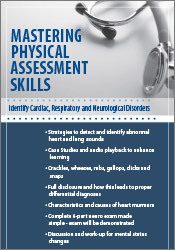 Image of Mastering Physical Assessment Skills: Identify Cardiac, Respiratory an