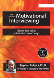 Image of Updated Motivational Interviewing with Stephen Rollnick, Ph.D.: Eviden