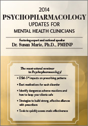 Image of2013 Psychopharmacology Updates for Mental Health Clinicians