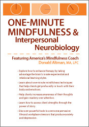Image ofOne-Minute Mindfulness and Interpersonal Neurobiology