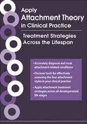 Image of Apply Attachment Theory in Clinical Practice: Treatment Strategies Acr