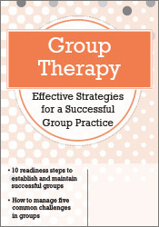 Image of Group Therapy: Effective Strategies for a Successful Group Practice